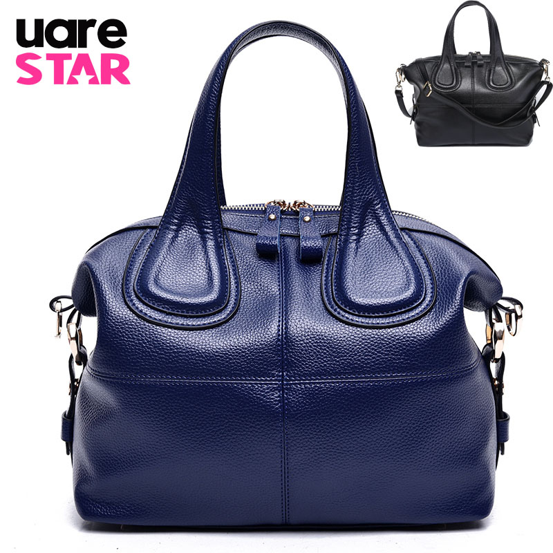 2017 fashion women's handbags split leather women shoulder bag luxury handbags women bags designer waterproof ladies hand bag