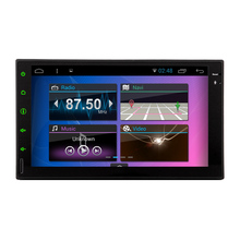 Android 5.1 Auto Navigator HeadUnit Car Stereo Touch Screen Radio 7″ GPS 2Din System AMP Capacitive No-DVD Tablet Map