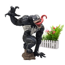Amazing Spider-Man Articular Móvel Spiderman Venom PVC Action Figure Collectible Modelo Toy Presente de Natal(China)
