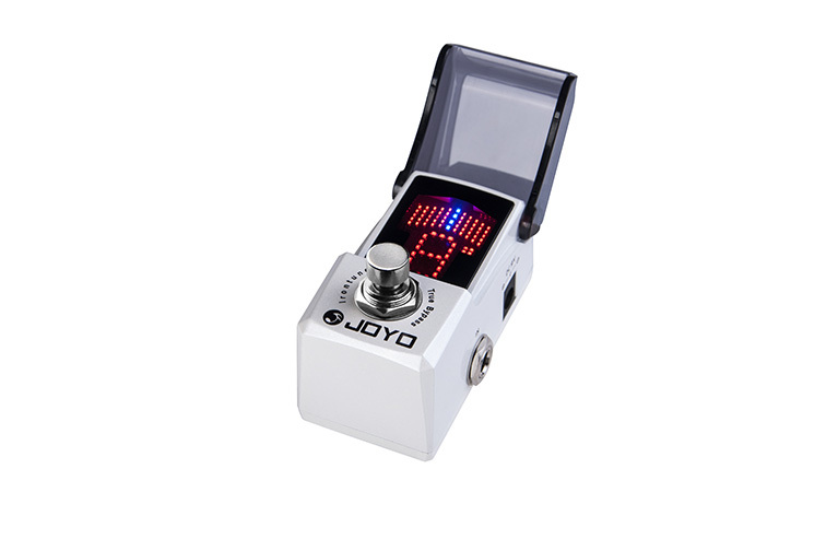 цена на JOYO JF-326 Irontune Electric Guitar Effect Pedal/High Precision Pedal Tuner /Guitar Accessories