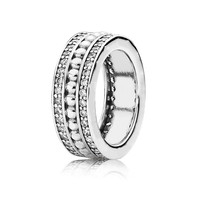 69c3cb463d52 2018 New Fashion 925 Sterling Silver Forever Statement Ring For Women  Anniversary Wedding Ring Fine Pandora