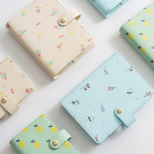 New Original A6 A7 PU Leather Planner Travel Creative Diary Planner loose Leaf Notebook With Zip Inside Bag Match lovedoki