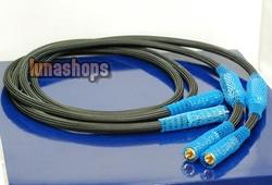 LN003885 1.5m G7 Siltech 770i RCA Male Plug Speaker Hifi Audio Adapter Cable