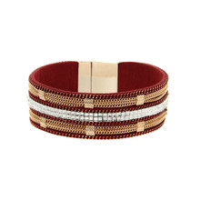 ORNAPEADIA New Hot Jewelry Bohemia bracelet Popular in Europe National style chain Leather Bangles for women gift wholesale