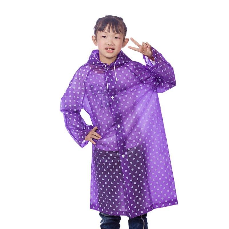 2016New Kids Rain Coat Children's woman Raincoat Rainwear ...