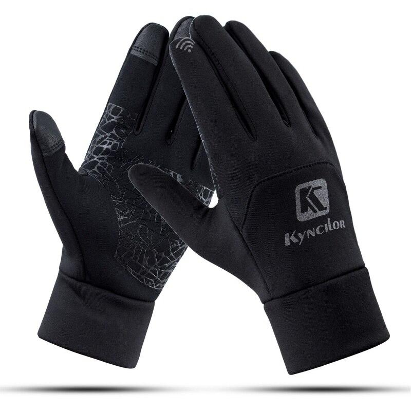 2019 New Waterproof Fleece Men Women Ski Gloves Wind-proof Thermal Touch Screen Outdoor Sport Cycling Snowboard Gloves