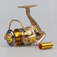 2015 New Spinning Fishing Reel 10BB All Metal Ice Boat Reel Fly Cast Drum Hand Fishing