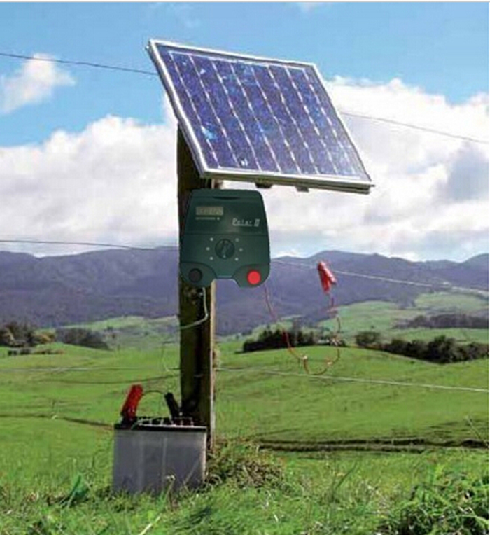 portable electric fence charger energiser 20km farm electric fence energizer with lcd screen solar power optionalin fencing trellis u0026 gates from home