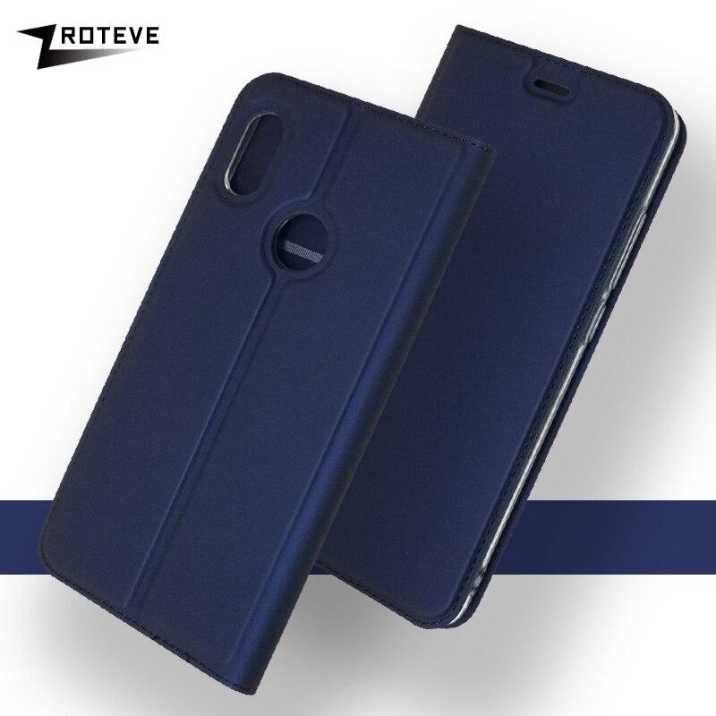 ZROTEVE Cases For Xiaomi Mi 6X 5X Case Cover Flip Wallet Leather Xiomi Mi6 X Magnetic 6 Mi5