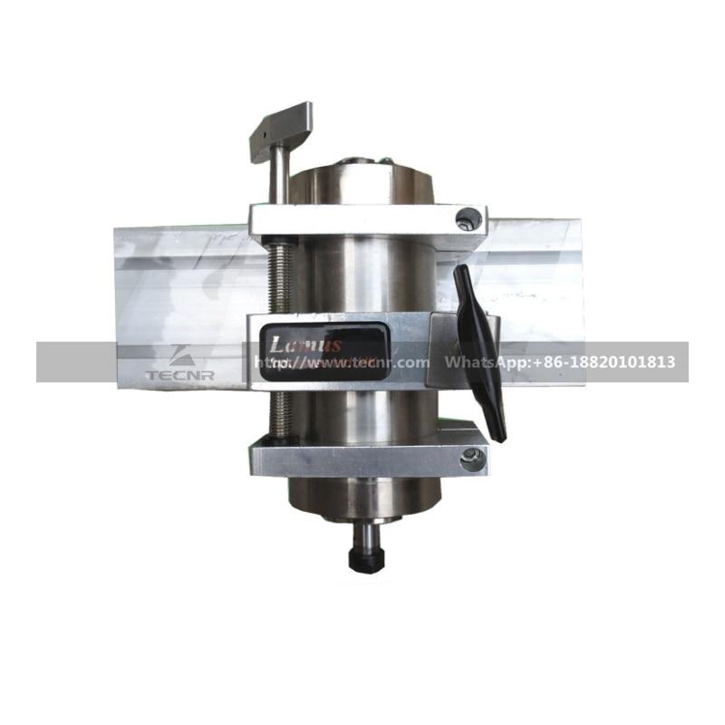 Soporte de abrazadera de motor de husillo ajustable 80MM para motor - Piezas para maquinas de carpinteria - foto 2