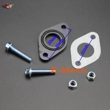 19 мм/20 мм КАРБЮРАТОР впускной трубопровод прокладка уплотнение набор для 50 110 cc питбайк ATV E-Moto