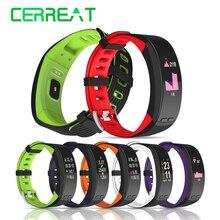 P5 GPS Fitness Bracelet Moniteur de Fréquence Cardiaque Smart Band Bracelet À Puce Montre Téléphone Activité Tracker PK Xiaomi Bande 2