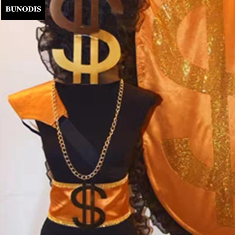 Tenue Dollars Bling Ds Célébrer Costume Zd026 Femmes Chanteurs Et Dj Usage D'étape Homme Discothèque Body Partie vwd7z