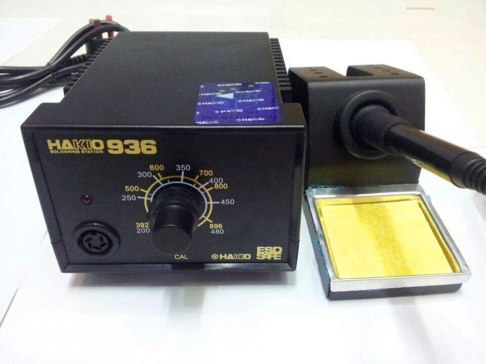 1 Unidades 220 V 60 W Hakko 936 Estación de soldadura de hierro eléctrico