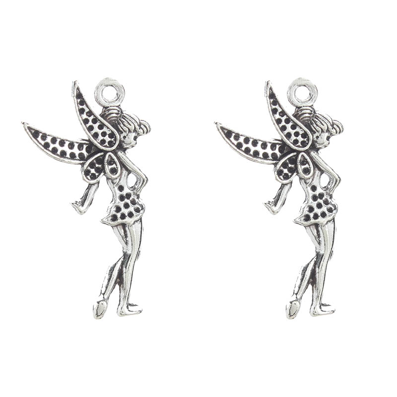 10 x Tibetan Silver FLOWER BUD 3D Charms Pendants Beads