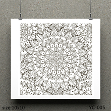 AZSG Flower in leaves/Coat of arms Clear Stamps For Scrapbooking DIY Clip Art /Card Making Decoration Crafts