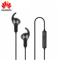Original Huawei Sport Bluetooth Headset AM60 CSR Apt X Music Life Waterproof Mic Control Wireless Earphones for Android IOS