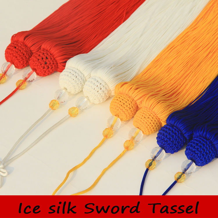 Wushu Tai Chi Sword Tassel Sword Ear Handwork Martial Arts/for Tai Chi Sword&chinese Kung Fu Sword