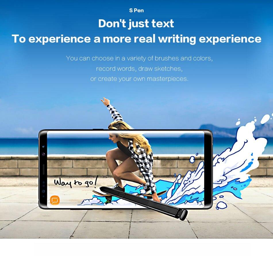 3For Samsung Galaxy Note8 Pen Stylus Active S Pen Stylus Pen Touch Screen Pen Note 8 Waterproof Call Phone S-Pen