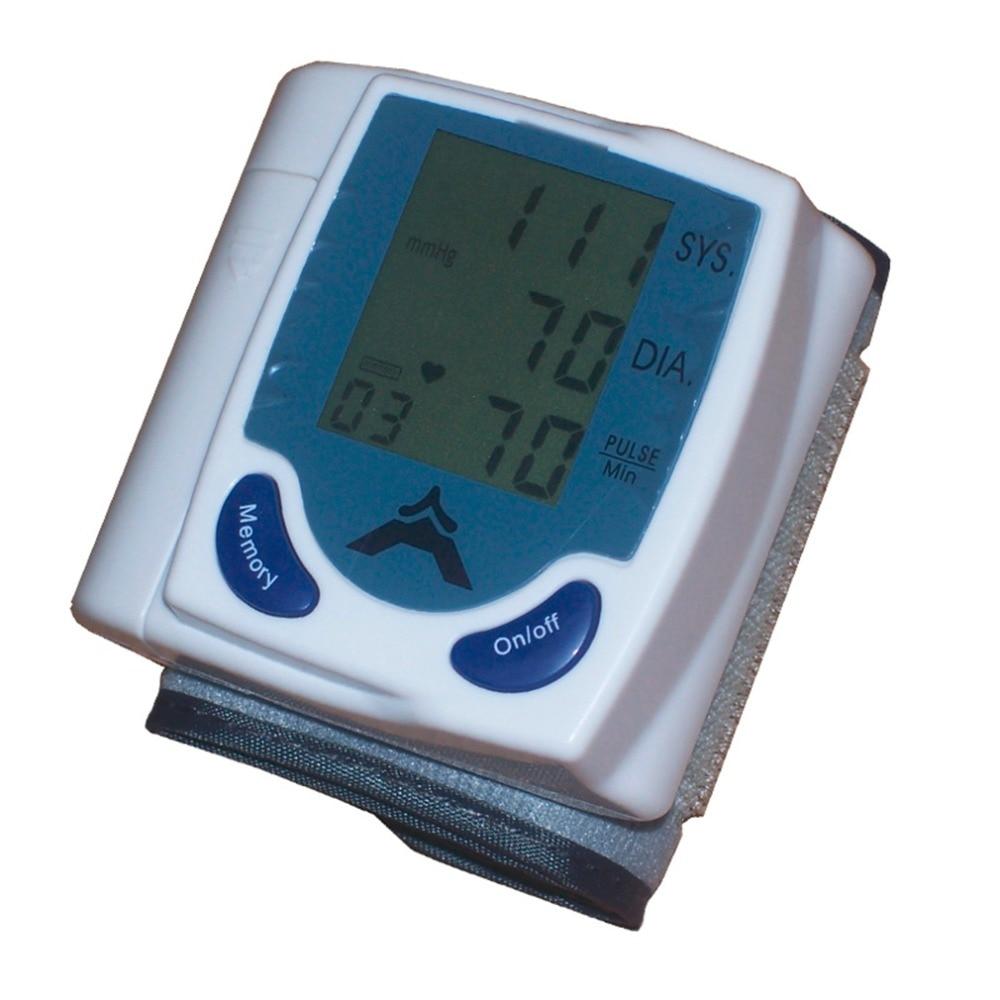 High Quality Digital Wrist Blood Pressure Monitor Heart