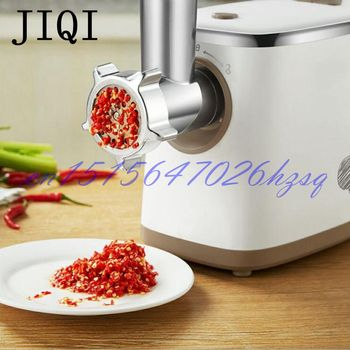 JIQI 400W Household Electric meat grinder Multifounctional meat chopper for Sausage/Vegetable Electrical meat mincer