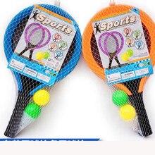 Outdoor Fun Sports Toy Children's Plastic Badminton Racket Kindergarten Tennis Christmas Birthday Party Exercise Baby Body