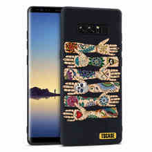 Fashion creative ultra thin silicon cartoon soft phone case For Samsung Galaxy Note 8 back cover Shell For galaxy note 8