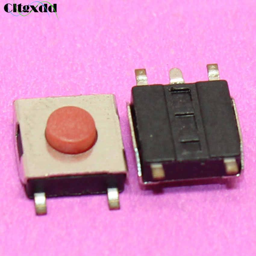 Cltgxdd 1 ~ 100 шт сенсорный Переключатель ВКЛ/ВЫКЛ 6*6*3,1 м 5pin SMD tactbile puch микропереключатель Красная Кнопка 6x6x3,1 мм пять футов SMD