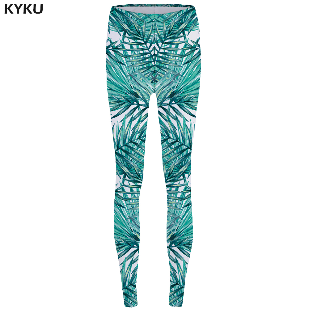 KYKU Weeds Leggings Leaf Sexy Leggings Fashion Print Legging Trousers for Leggins fitness Stretch Pants Women Spandex Funny in Leggings from Women 39 s Clothing