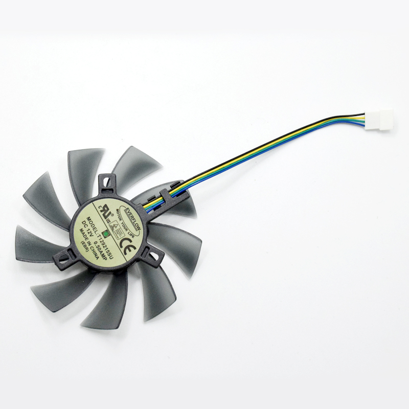 T129215SU 85MM Cooler Fan Replace For Gigabyte Geforce GTX 1050 1050TI 1060 1070 1070TI G1 Radeon RX 570 580 470 Video Card Fans image