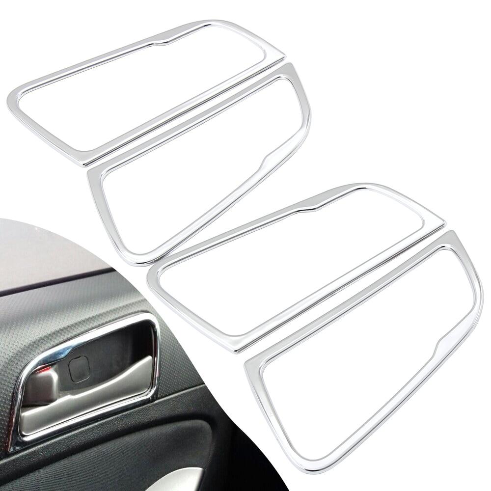 Защитная накладка на дверные ручки автомобиля для Hyundai Accent i25 Solaris Verna 2012 2013 2014 2015 Аксессуары Лепнина для интерьера      АлиЭкспресс