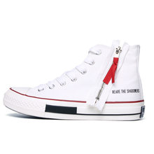 Rock Punk High Top Canvas Shoes White Black Solid Men s Flats New 2019  Fashion Sneakers For Men Casual Shoes Espadrilles Lace Up 7eab025df150