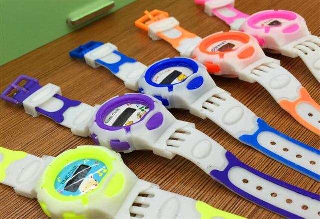 LED Watch Electronic Digital Chronograph Computer Kids Child Boys Girls Rubber Wrist Watches 325