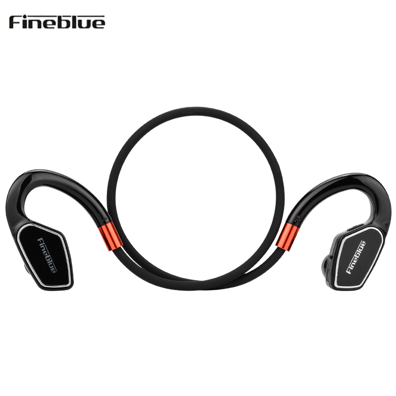 Original Fineblue M3 Professional Running Sport Bluetooth Headset Earphone Handsfree Headphones with Microphone for Mobile phone remax t9 mini wireless bluetooth 4 1 earphone handsfree headset for iphone 7 samsung mobile phone driving car answer calls