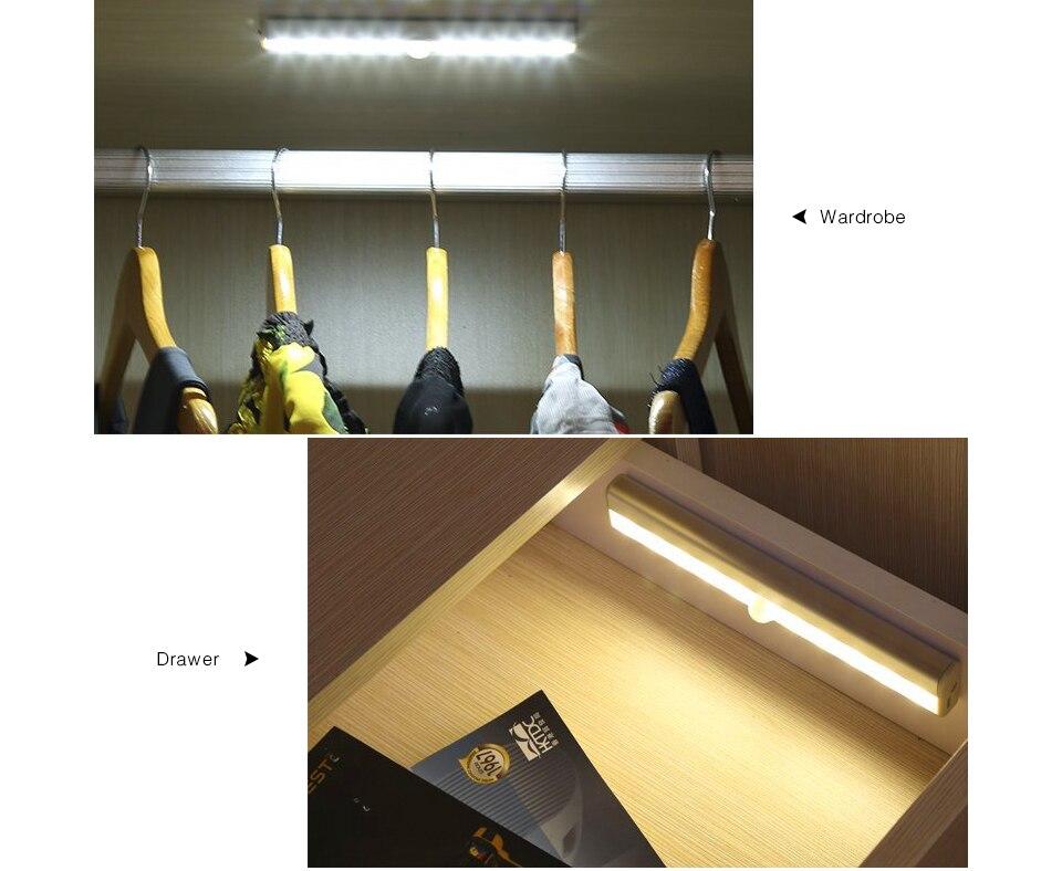 a Luz Do Armário Com Adesivos Adesivo