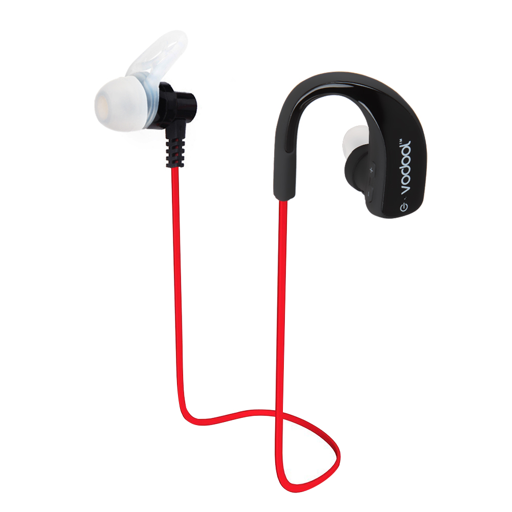 VODOOL Bluetooth 4.0 Wireless Stereo Headphones High Definition Headset Sweatproof Earphone for iPhone Andorid Smartphone