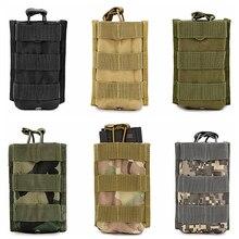 Deportes Colgante Paquete para M4 M16 Bolsa Bolsas de Revistas Rifle Mag Walkie Talkie Bolsas Molle Táctico Al Aire Libre de Bolsillo