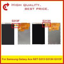 """10 개/몫 높은 품질 4.0 """"삼성 갤럭시 에이스 nxt g313 g313h g313f lcd 디스플레이 화면"""