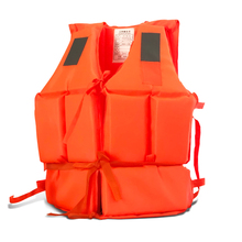Children Swimsuit Adult Buoyancy Life Vest Swimming Boating Safety Surf Survival Aid Jacket Orange Camouflage A