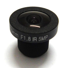 HD 5mp 1.39mm cctv camera Lens 1/3″ Wide Angle M12 F1.8 IR Board Panoramic Fisheye lenses for 720P/1080P Camera