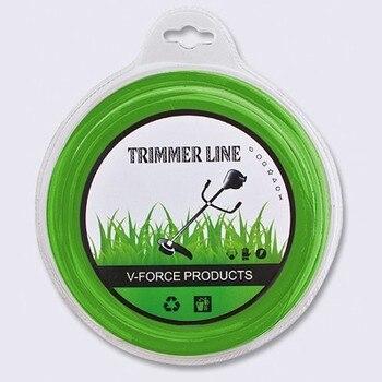 Brush cutter Nylon line Square&round 2.7mmX 90m Trimmer Line Spool Whipper Snipper