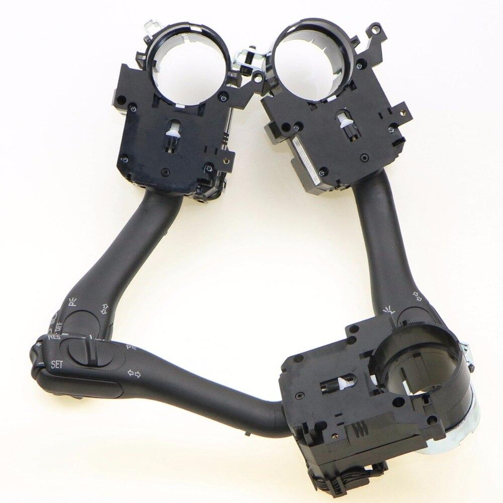 3x commutateur de système de tige de commande de poignée de clignotant de régulateur de volant de voiture pour VW Jetta Golf MK4 Passat B5 Beetle 18G 953 513 A