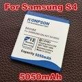 Batería b600bc 5050 mah para samsung s4 i9500 i9502 i9505 i9508 i9515 i959 i545 l720 i337 galaxy s4 active i9295 i9152 i9150 i9158