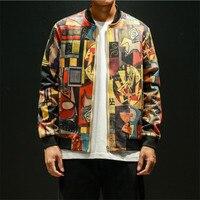 Men Jacket Coat 5XL Mens Jackets And Coats Japan Style Hip Hop Bomber Jacket Men Clothing Japanese Streetwear Fashion Jacket