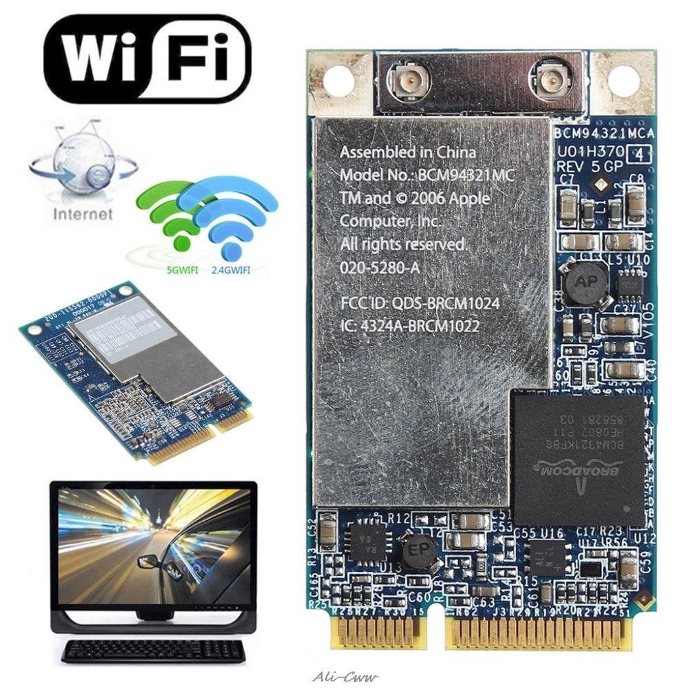 2018 2.4G+5G 270M Wifi Wireless Mini PCI-E Card For Apple Macbook BCM94321MC 661-3874