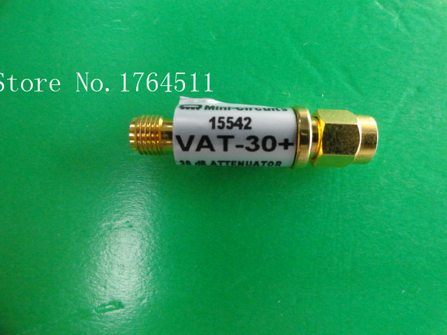 [BELLA] MINI VAT-30 DC-6GHz 30dB 1W SMA Coaxial Fixed Attenuator  --5PCS/LOT