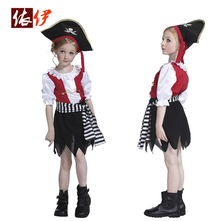 Free shipping Halloween costume girl child costumes dance clothes children's role-playing jazz dance costume cosplay costume