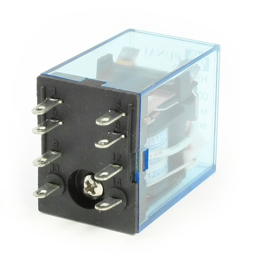 Relay 8 pines 120v