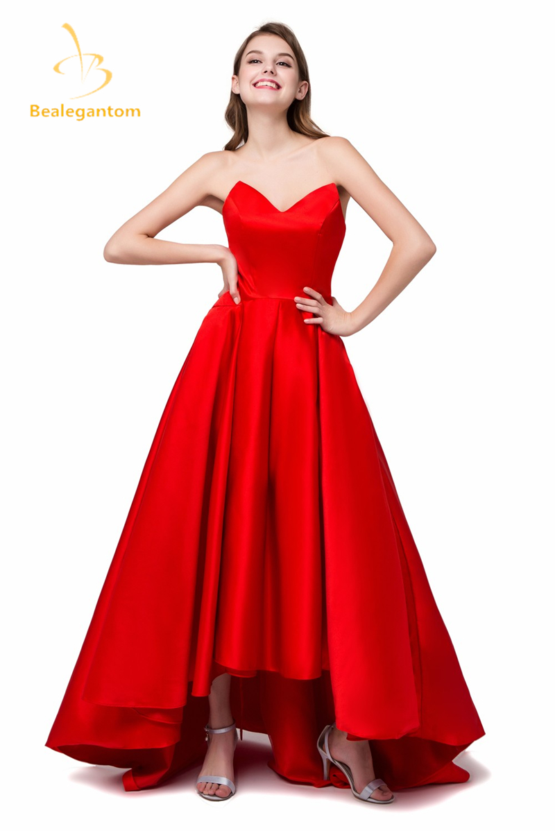 cheap red prom dress