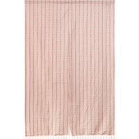 RUBIHOME Fabric Pink Lace Door Curtain Eparate For Bedroom And Dinning Room Decoration Home Textile Without